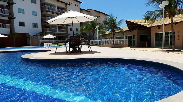 Porto Beach Residence ao lado do Beach Park